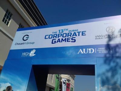 Dubai Corporate Games - 2018